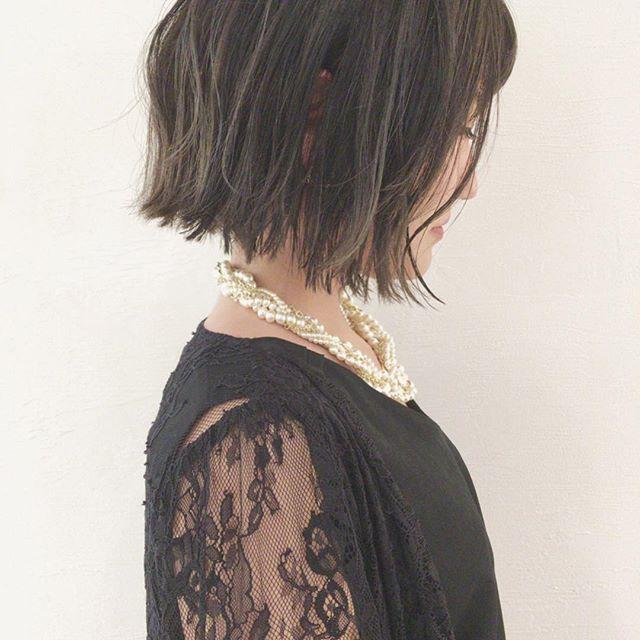 卒園式 髪型 ボブ12