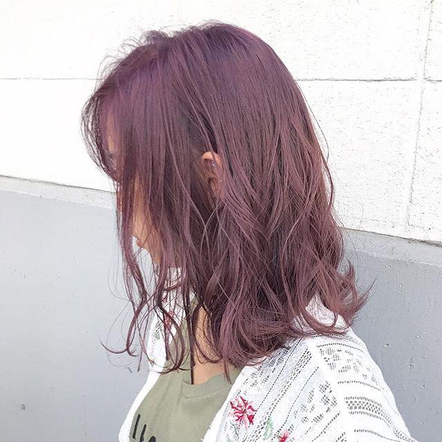 春トレンドのヘアカラー7