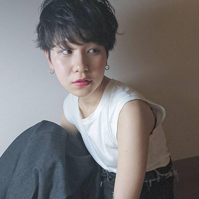 入園式の髪型《ショート×黒髪・暗髪》
