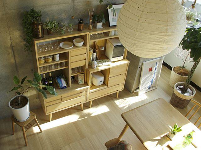 食器収納に役立てたいユニット家具