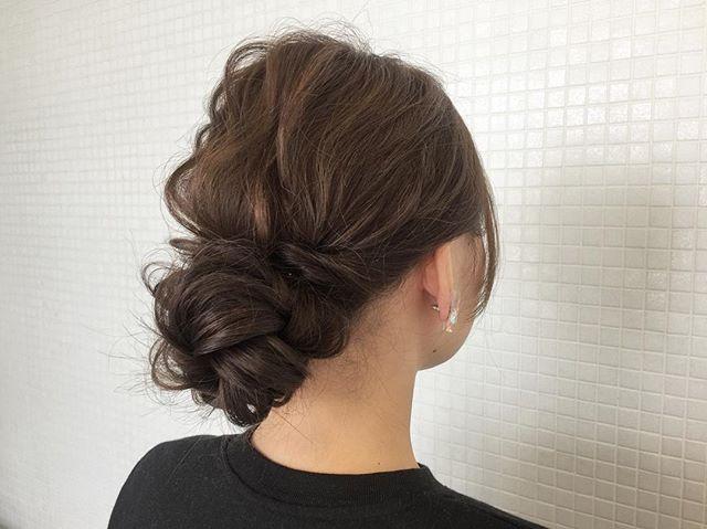 入園式におすすめのママの髪型《ロング》5