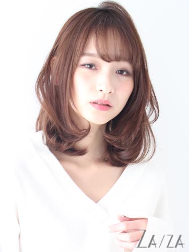 ミディアム×巻き髪×モテスタイル