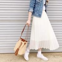 【2020春】ほどよい抜け感がおしゃれ♪《スニーカー×スカート》のお手本コーデ集