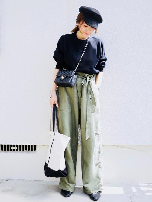 【沖縄】4月に最適な服装:パンツコーデ2