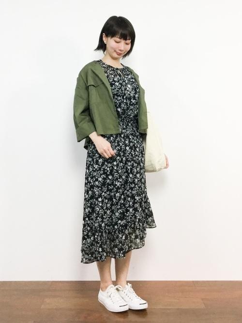【大阪】4月に最適な服装:ワンピースコーデ6
