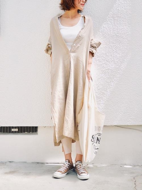 【沖縄】4月に最適な服装:ワンピースコーデ4