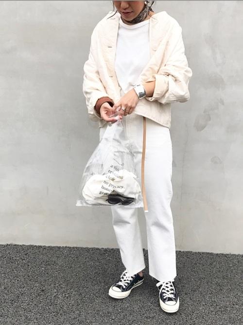 【大阪】4月に最適な服装:パンツコーデ5