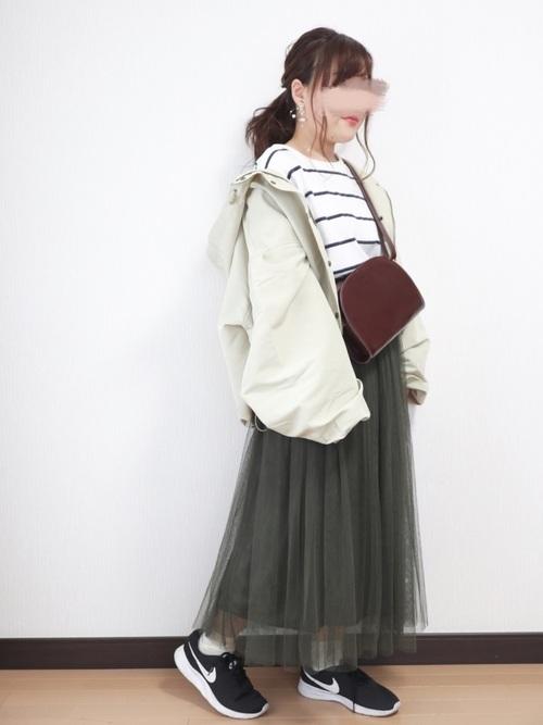 [coca] 選べる6カラー◇ふんわりチュールスカート