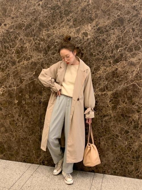 [reca] キャンディスリーブ トレンチコート 2019S/S