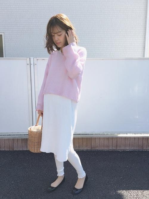 【大阪】4月に最適な服装:ワンピースコーデ5