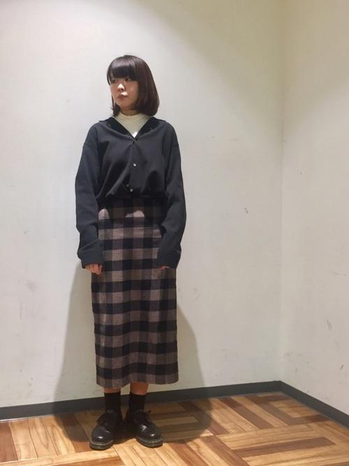 [tk.TAKEO KIKUCHI] 楊柳ワッシャーオープンカラーシャツ