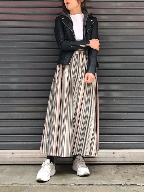 [B'2nd Womens] KOFTA(コフタ)ストライプスカート