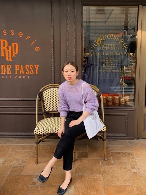 【大阪】4月に最適な服装:パンツコーデ2