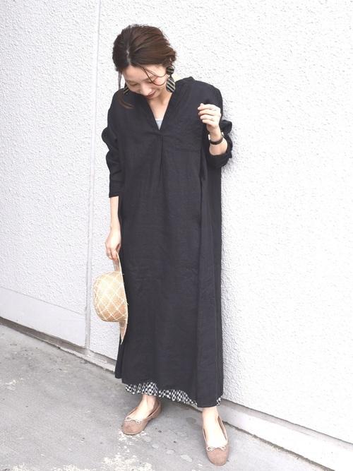 【沖縄】4月に最適な服装:ワンピースコーデ2