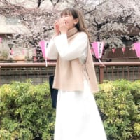 【2020最新】おしゃれに寒さ対策♡夜桜デートにおすすめのコーデ27選をご紹介