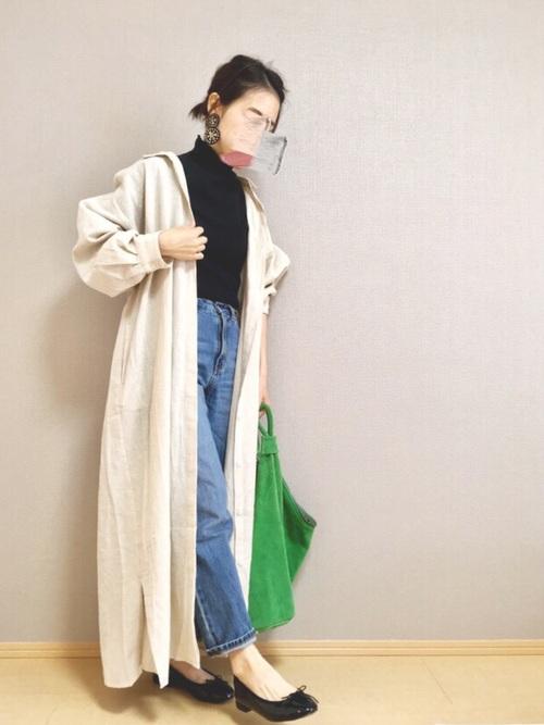 【大阪】4月に最適な服装:ワンピースコーデ2