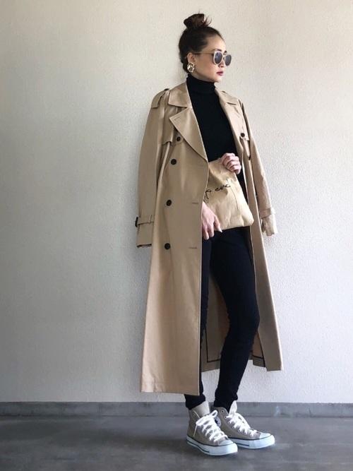 【大阪】4月に最適な服装:パンツコーデ8