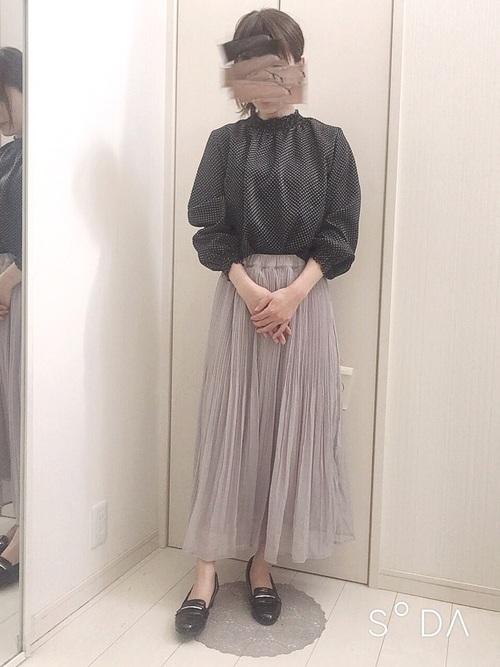 [Honeys] プリーツスカート