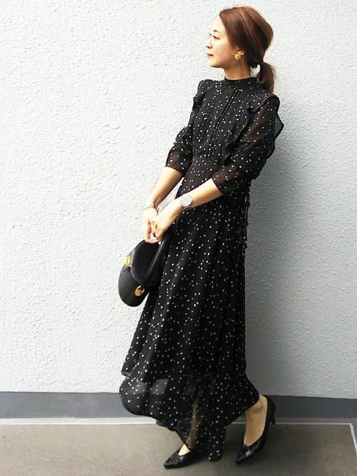 【大阪】4月に最適な服装:ワンピースコーデ4