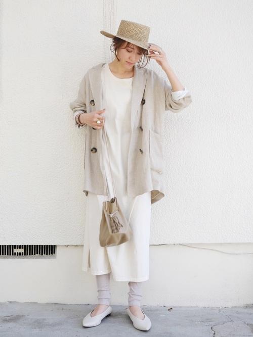 【沖縄】4月に最適な服装:ワンピースコーデ5