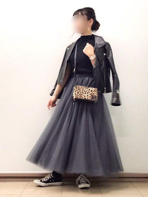 【大阪】4月に最適な服装:スカートコーデ6