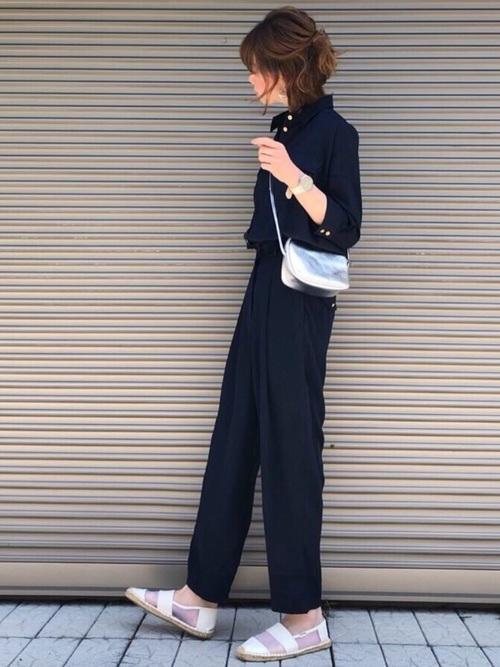 11[STYLE BAR] 【STYLEBAR】ミリタリーオールインワン