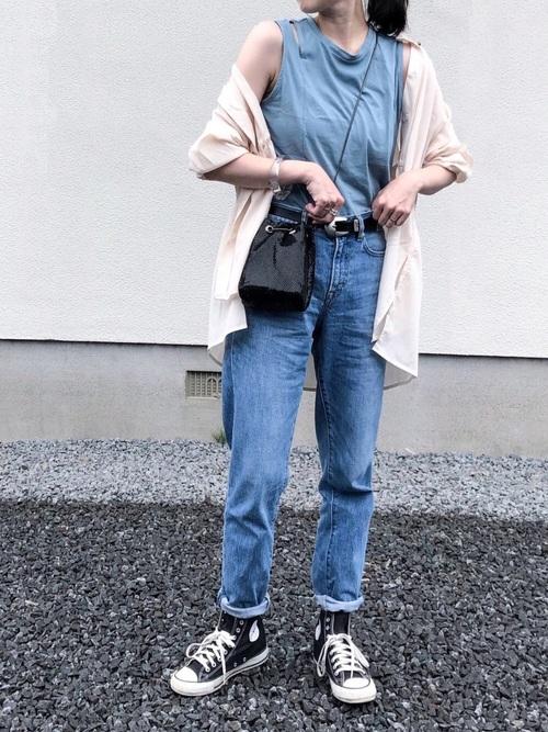 【沖縄】4月に最適な服装:デニムコーデ6