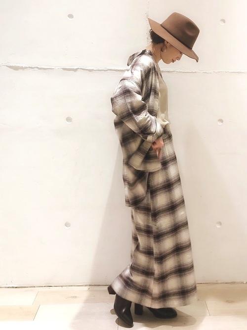 [LEPSIM] サイドボタンセミタイトスカート 848107
