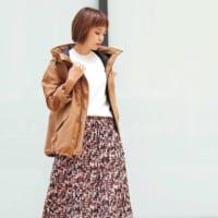 【2020最新】春の本命アウター♡マウンテンパーカーのきれいめコーデ特集