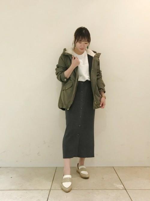 [BARNYARDSTORM] BARNYARDSTORM / 【otonaMUSE11月号掲載 佐田真由美さん着用】ライナーフーディジャケット
