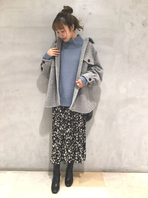 [LOWRYS FARM] ハナプリーツスカート 856557