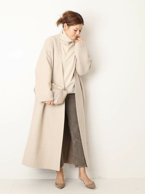 [Deuxieme Classe] CASH FLEECE ロングリバーコート