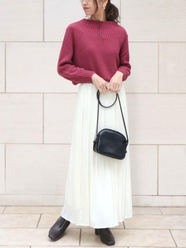 [HER CLOSET] 【HERCLOSET】プリーツスカート