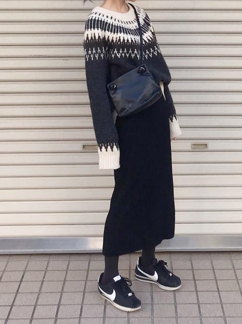 スカートがユニクロ
