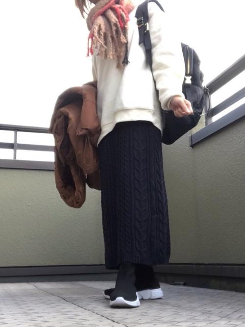 しまむらブーツコーデ4