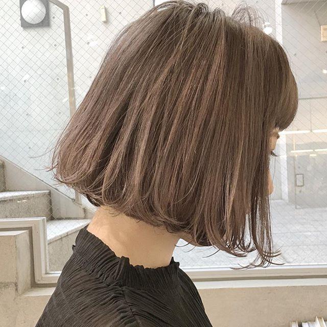 春トレンドのヘアカラー22