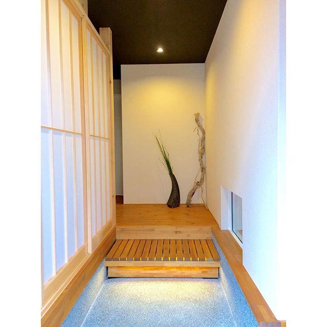 和風の部屋作り《玄関インテリア》