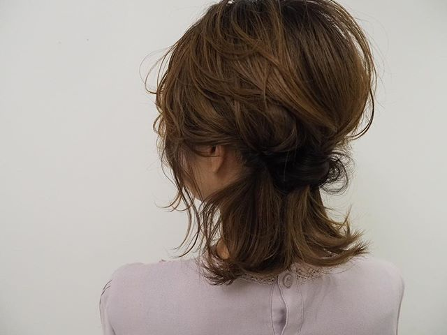 卒業式におすすめのママの髪型《ミディアム》6