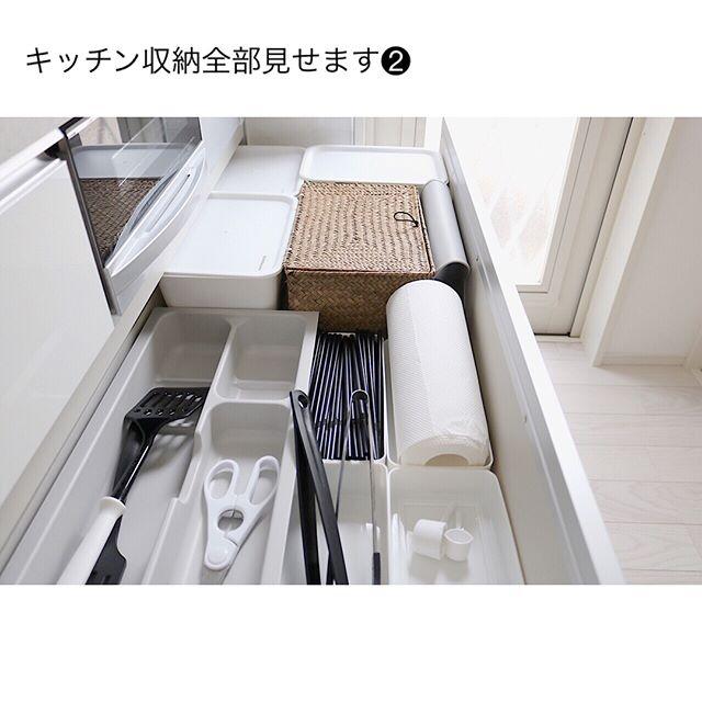 キッチンペーパーの収納アイデア21