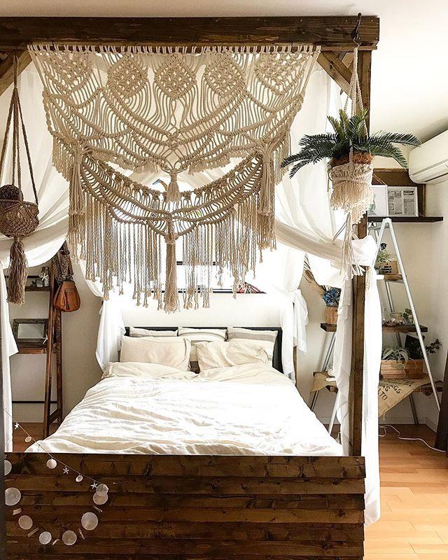 アジアンテイストの部屋作り《寝室インテリア》4