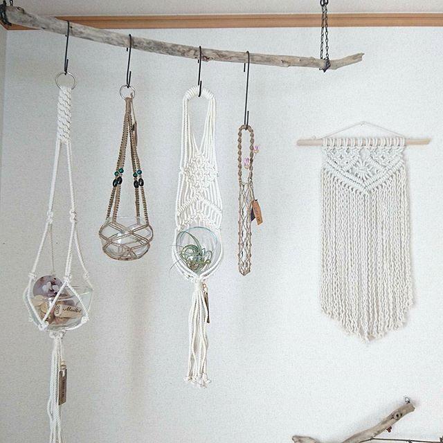 マクラメ編みアイテム4