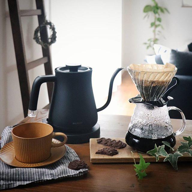 香りを楽しみながら淹れられるコーヒーサーバー
