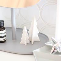 ホワイトクリスマスを楽しむ♡ホワイトやシルバーのツリーデコレーション集