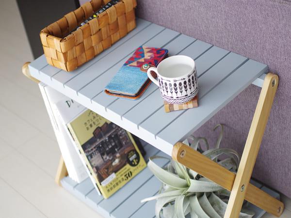 ナチュラルデザインのサイドテーブル3