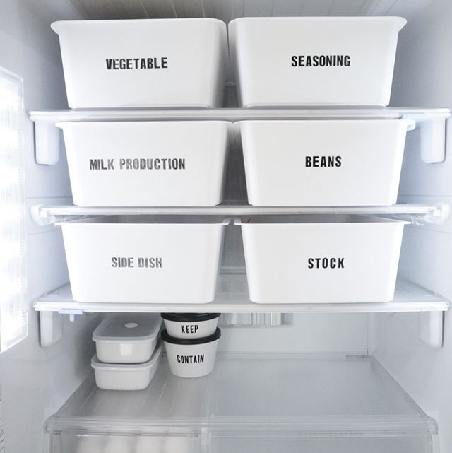 100均ダイソーの大人気商品を冷蔵庫にIN