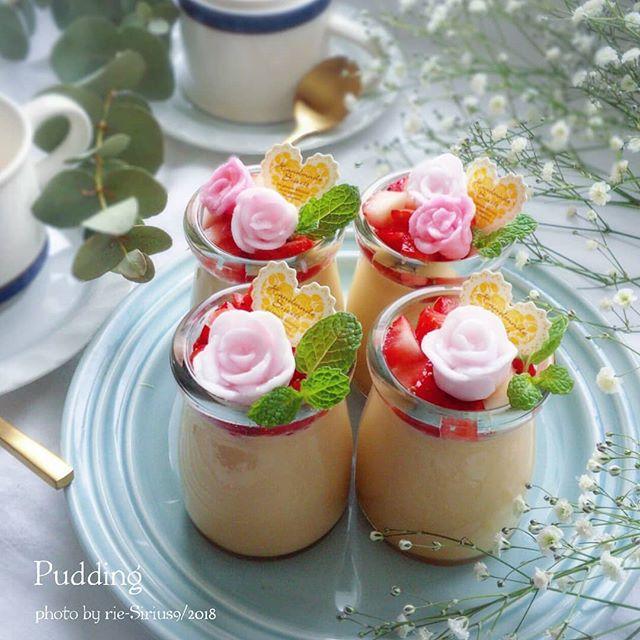 ひな祭りに人気のデザートレシピ《プリン》4