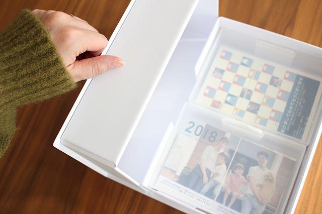 100均ポストカードケースを使った書類整理アイデア