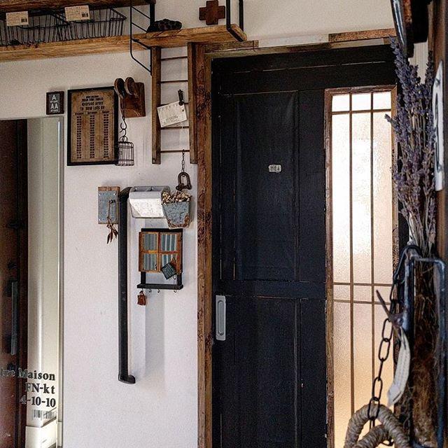 玄関DIY