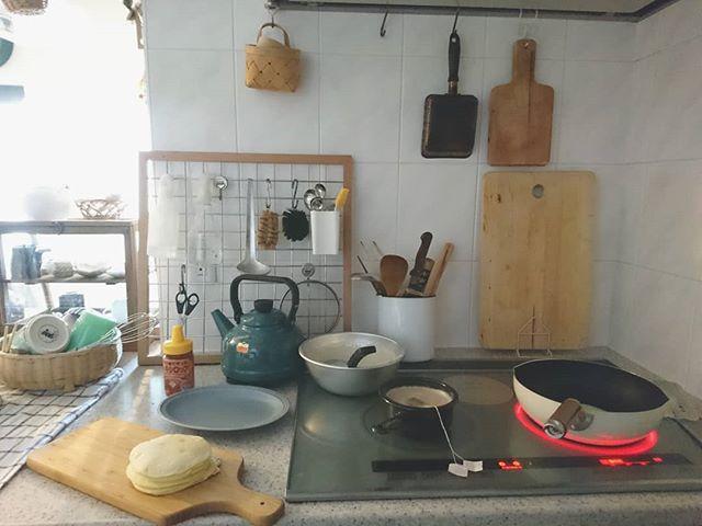真似したくなるアイデア満載の素敵な台所