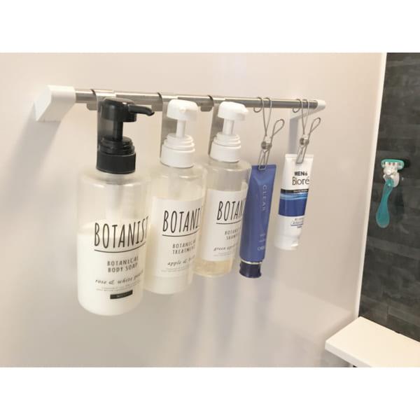 バスルームの収納アイデア